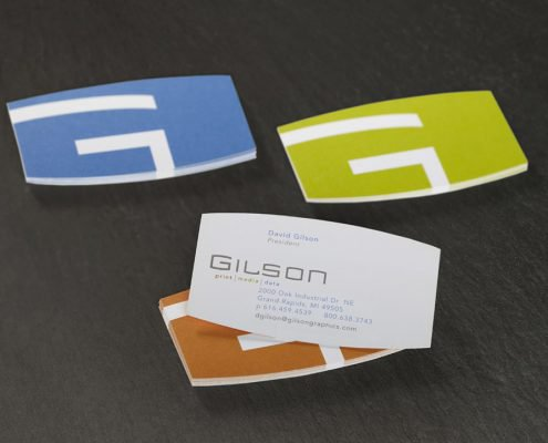 Gilson Business Card Backs