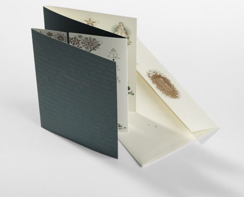 Gilson Holiday Card and Envelope
