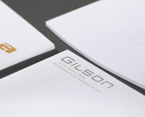 Gilson Stationery Details