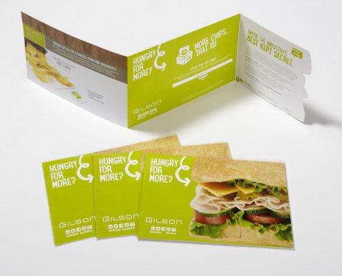 Gilson Sandwich Pre-Show Marketing