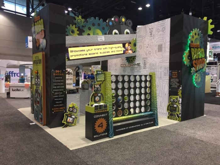 Award Winning Trade Show Booth, RoboShop