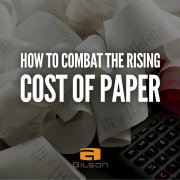 rising cost of paper